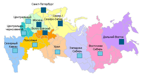 Регионы успешного выращивания малины сорта Брянская