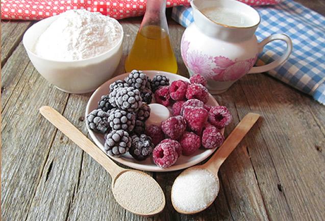Рецепты из замороженных ягод малины