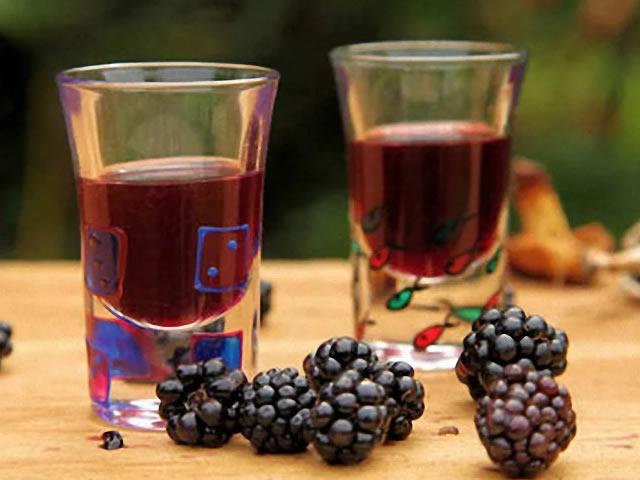 Вино из ежевики, приготовленное в домашних условиях